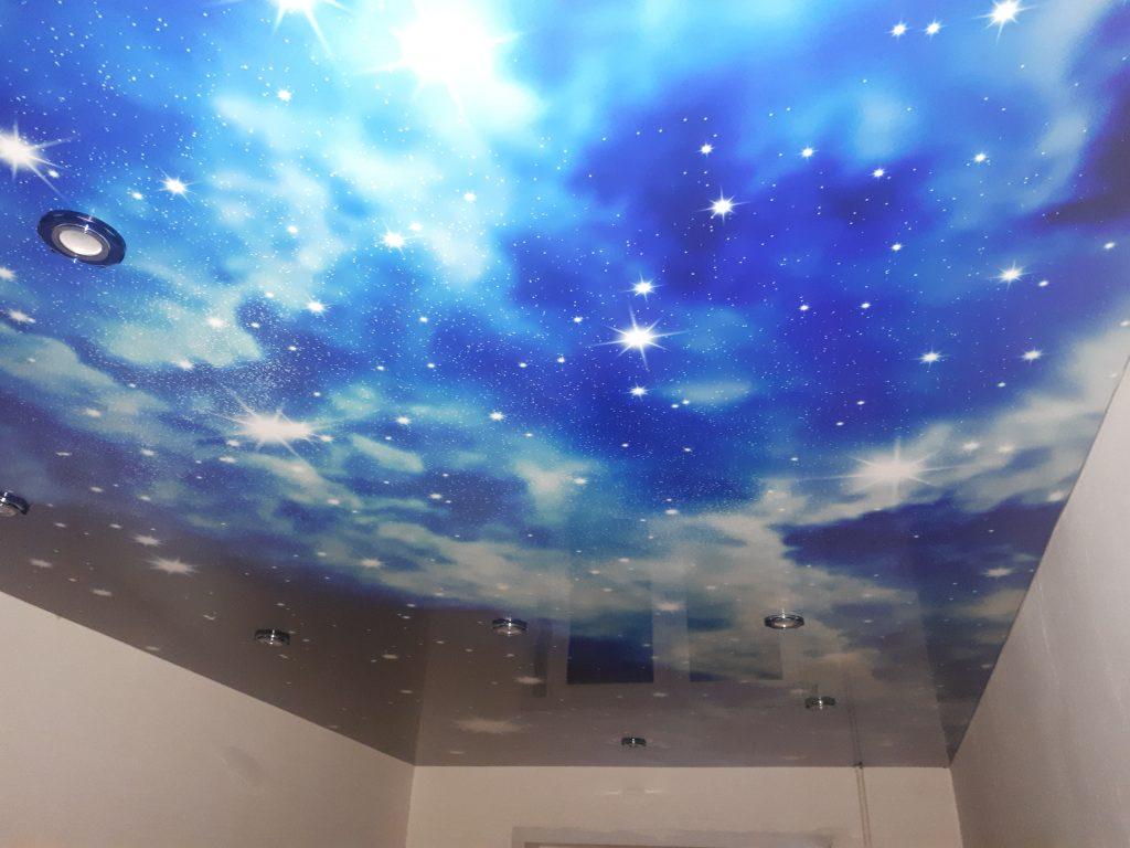 Фотопечать звездное небо