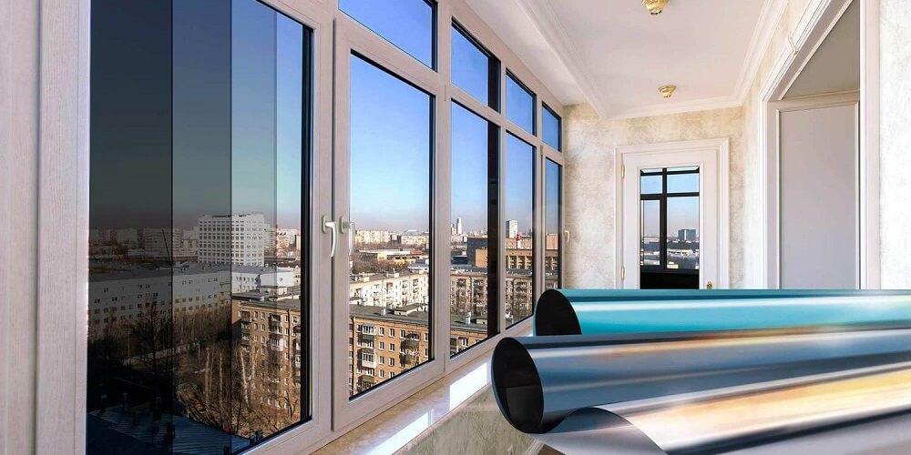солнцезащитные пленки на окнах